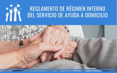 Reglamento de régimen interno del servicio de ayuda a domicilio