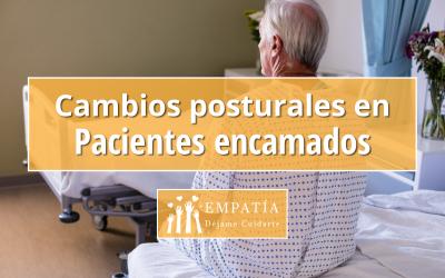 Cambios posturales en Pacientes encamados