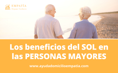 Los beneficios del SOL en las PERSONAS MAYORES